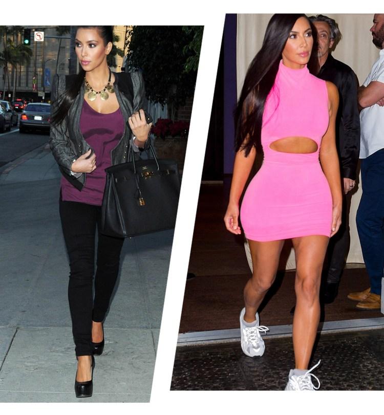 kim kardashian 2009 2018 2
