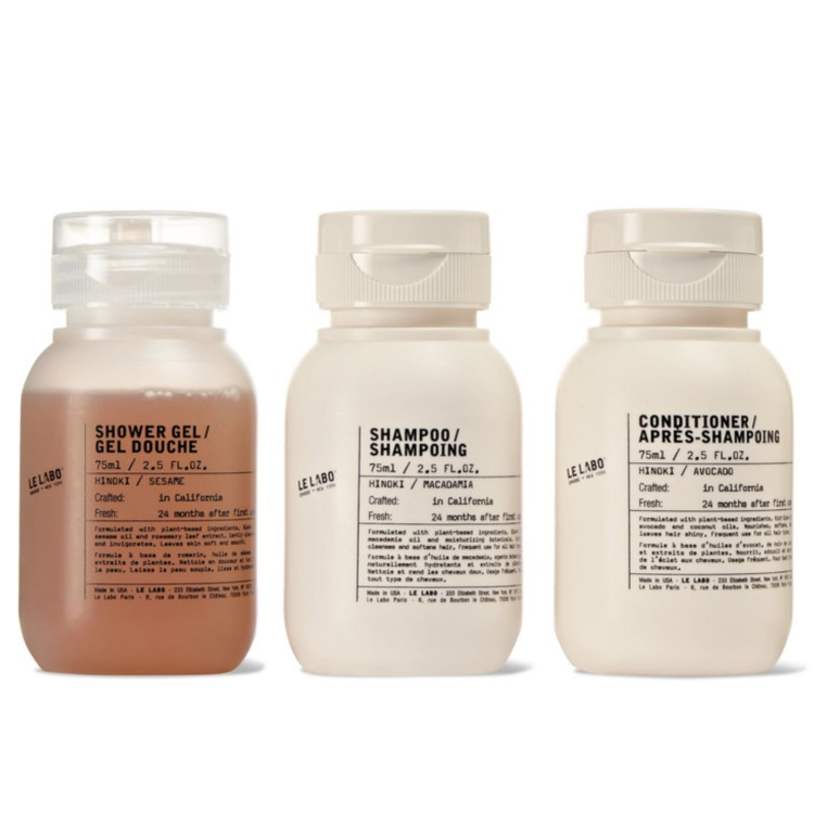 le labo hinoki travel set