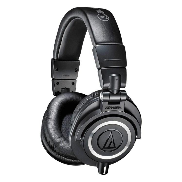 audio technica dj overear headphones
