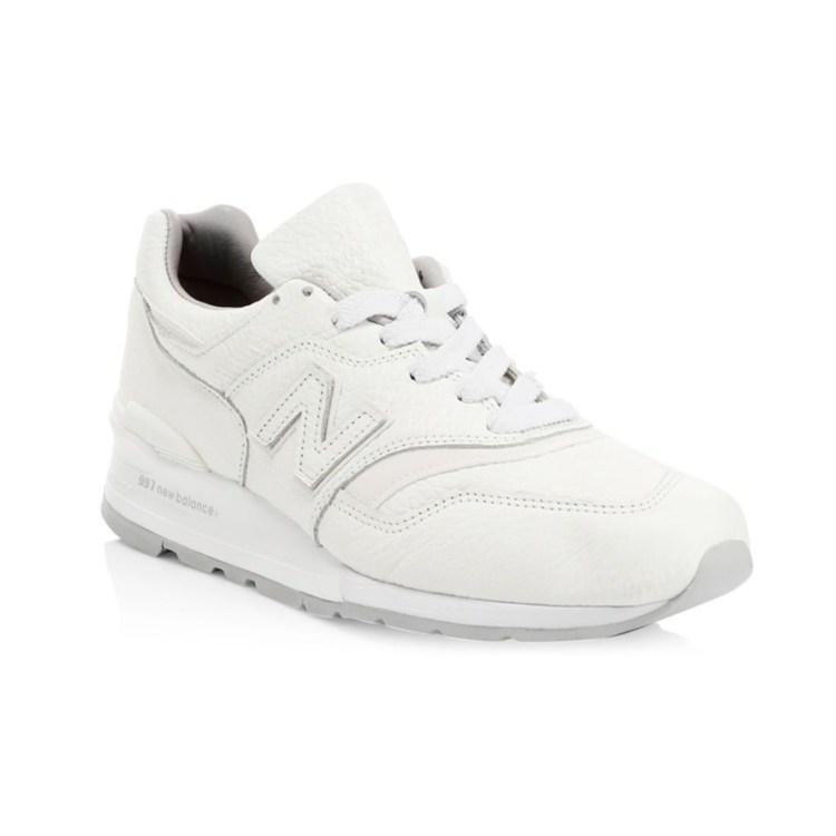 new balance dope sneaker white fresh