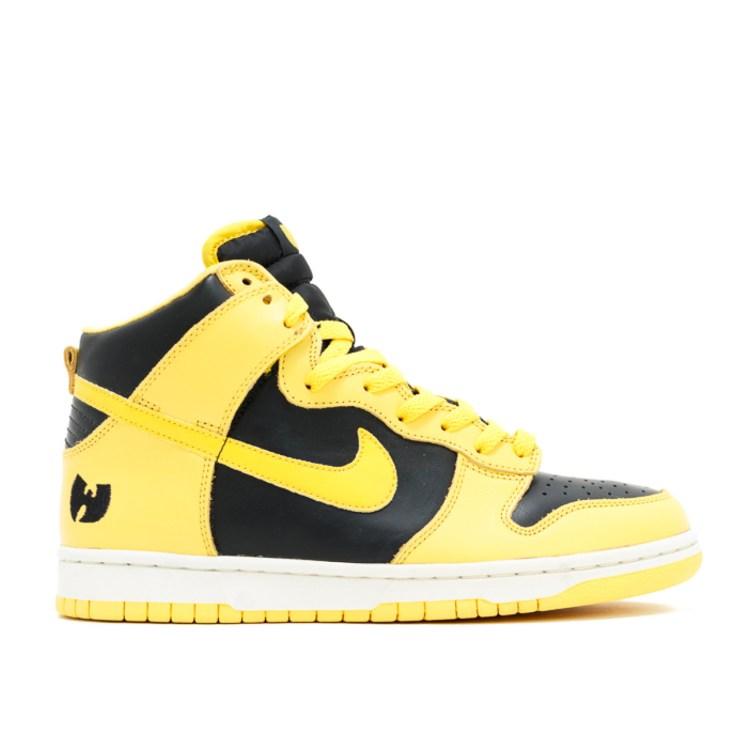 wu tang fight club yellow sneaker