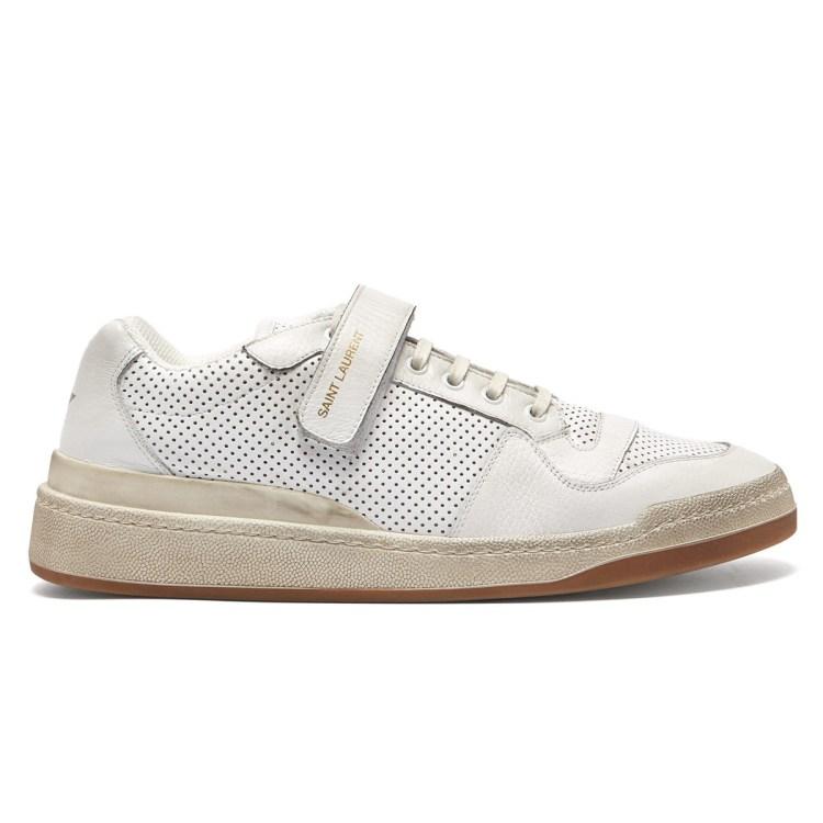 saint laurent white sneaker