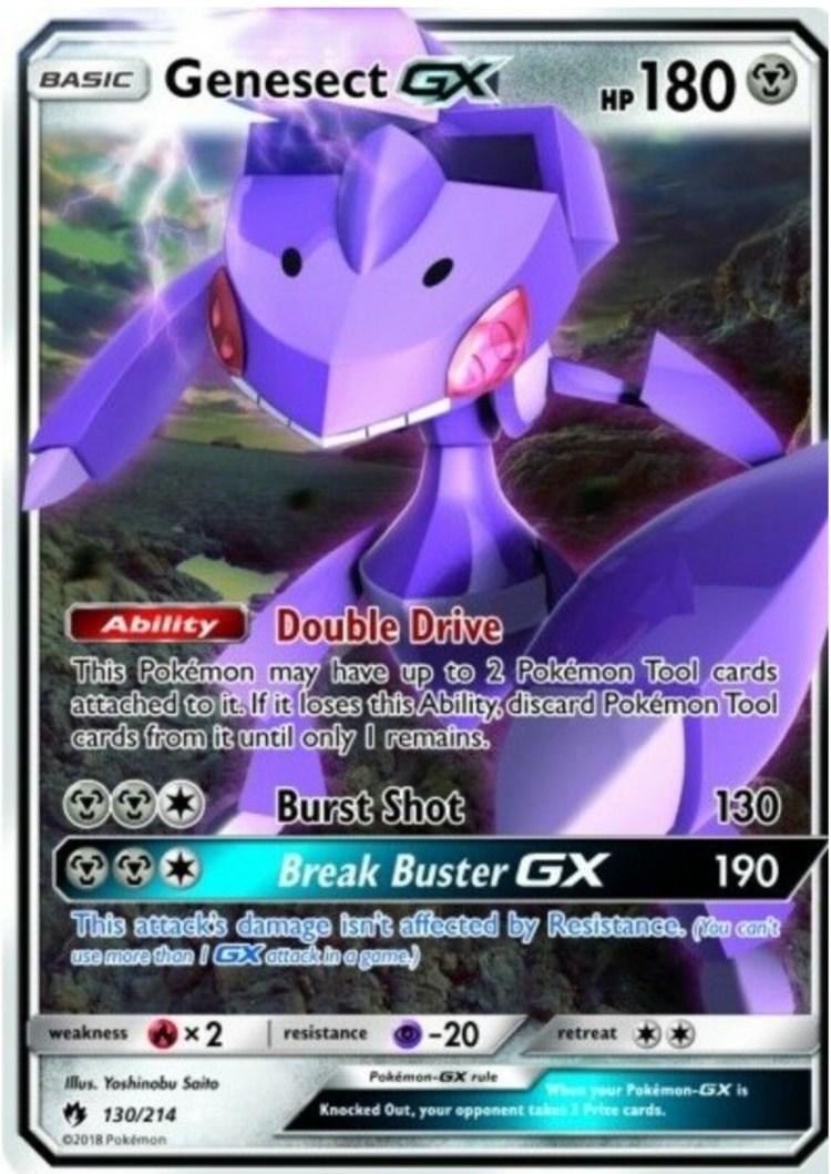 pokemon genesect gx