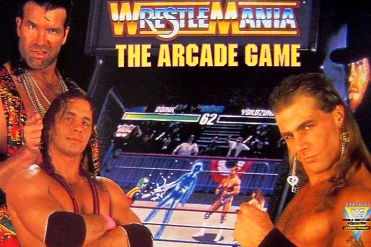 wrestlemania arcade game