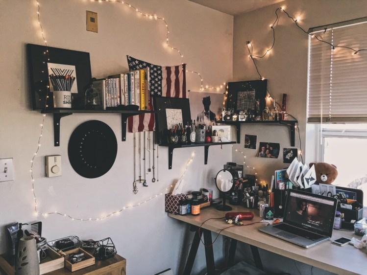 decoration flag decor art table lights artwork desk desk hipster organizing workstation t20 la6pay