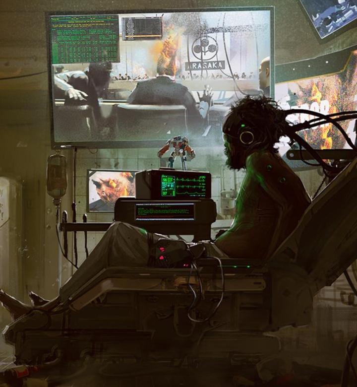 2020 gaming cyberpunk 2077 desktop