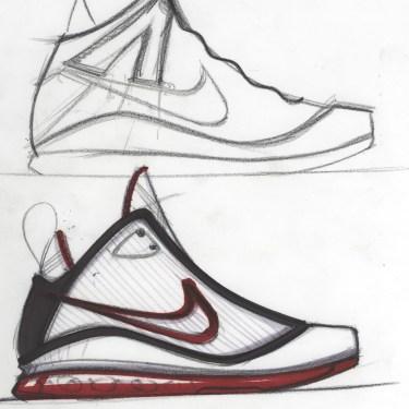 air max lebron 7 sketch