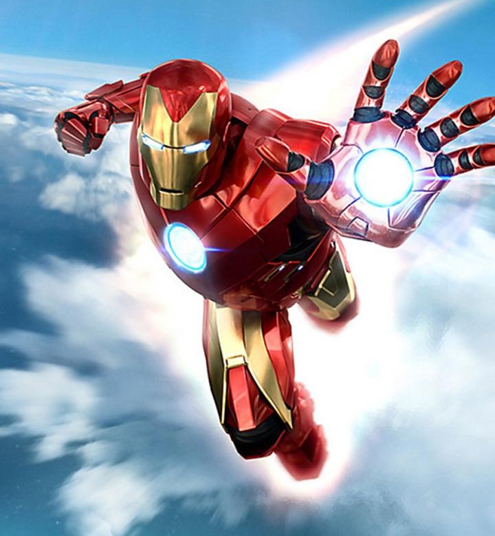 comic con iron man vr desktop