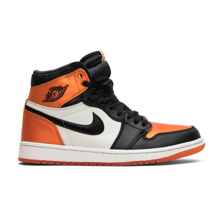 halloween sneakers jordan satin