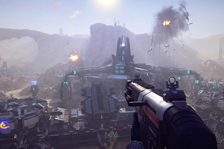 games like overwatch planetside 2