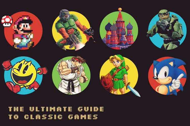 gifts for gamers retro video games book