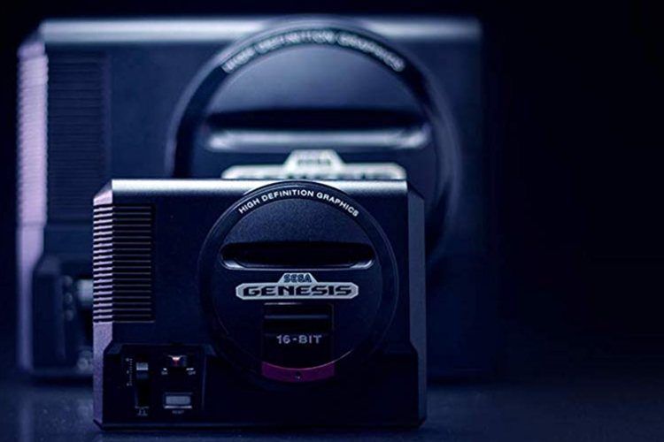 gifts for gamers sega genesis mini