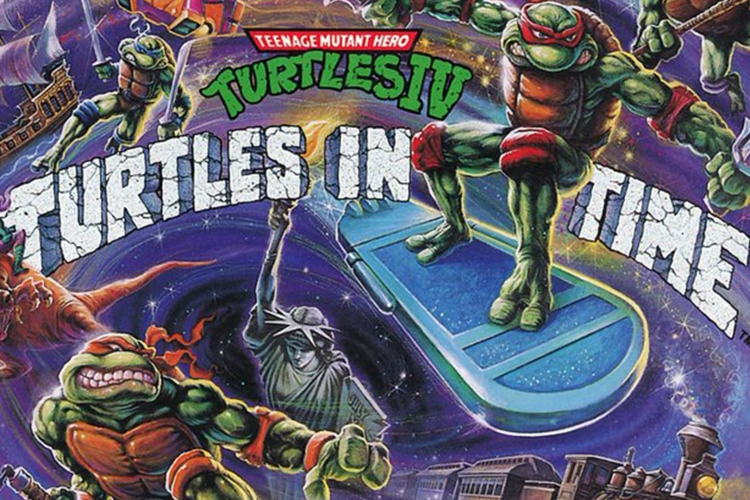 gifts for gamers turtles in time vinyl