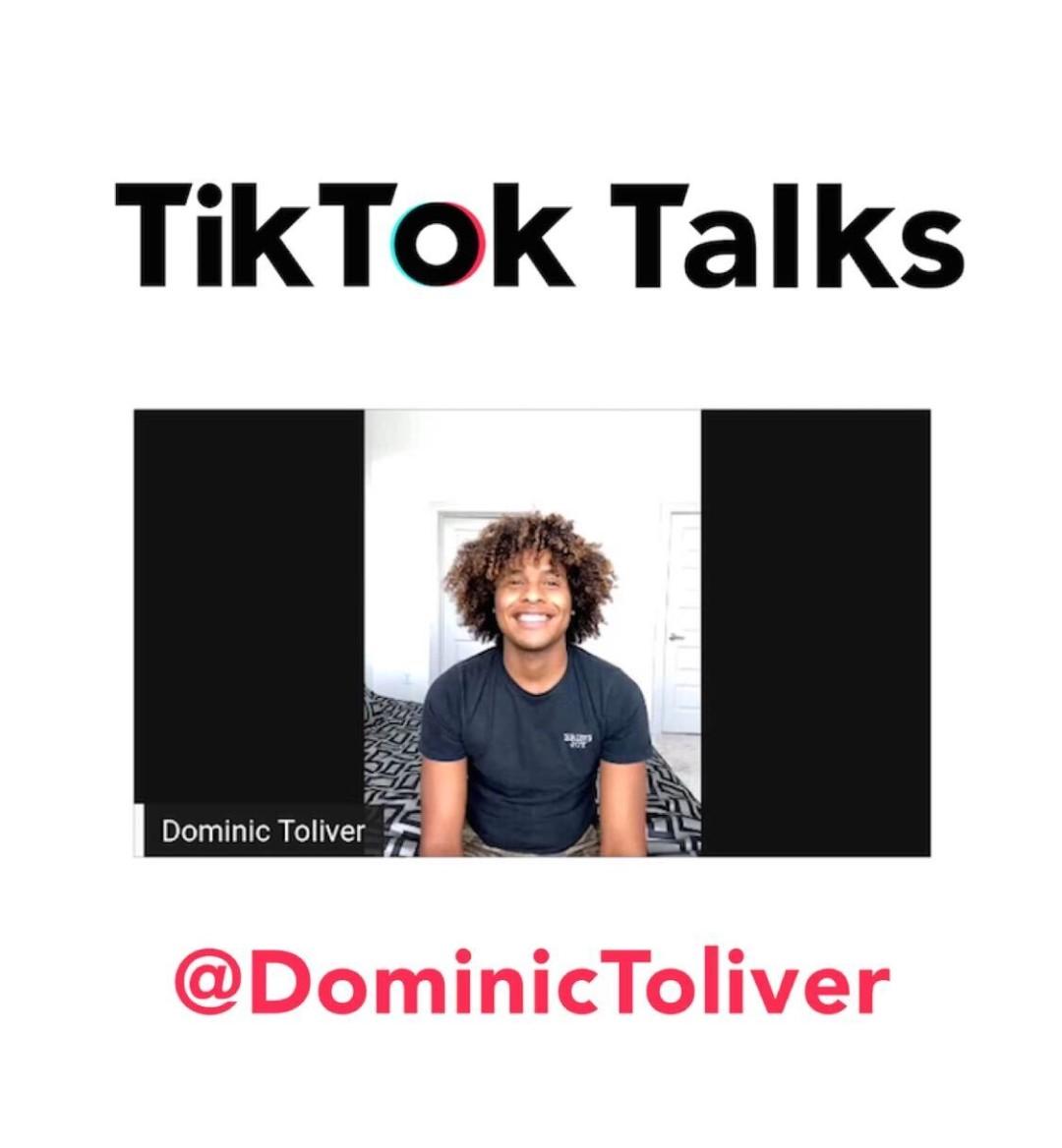 dominic toliver tiktok talks mobile