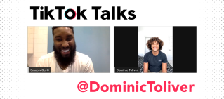 dominic toliver tiktok talks