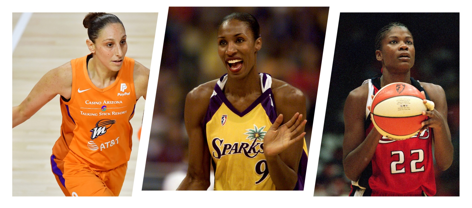 Players straight wnba Former WNBA