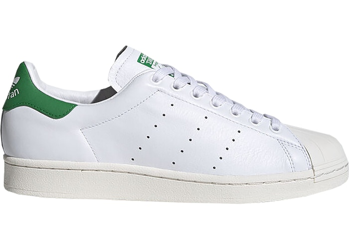 adidas superstan cloud white green