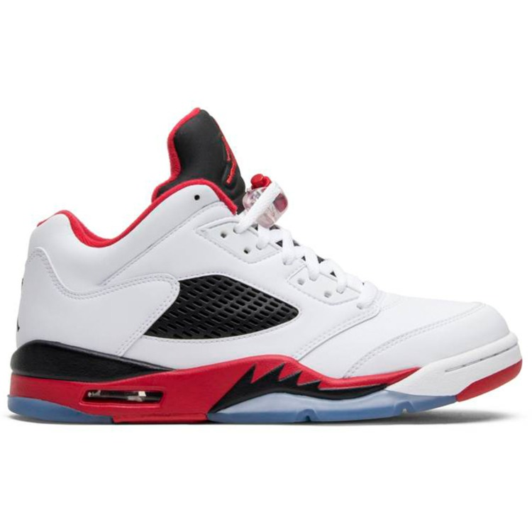 low top basketball shoes image 1 0005 aj5lowfirered