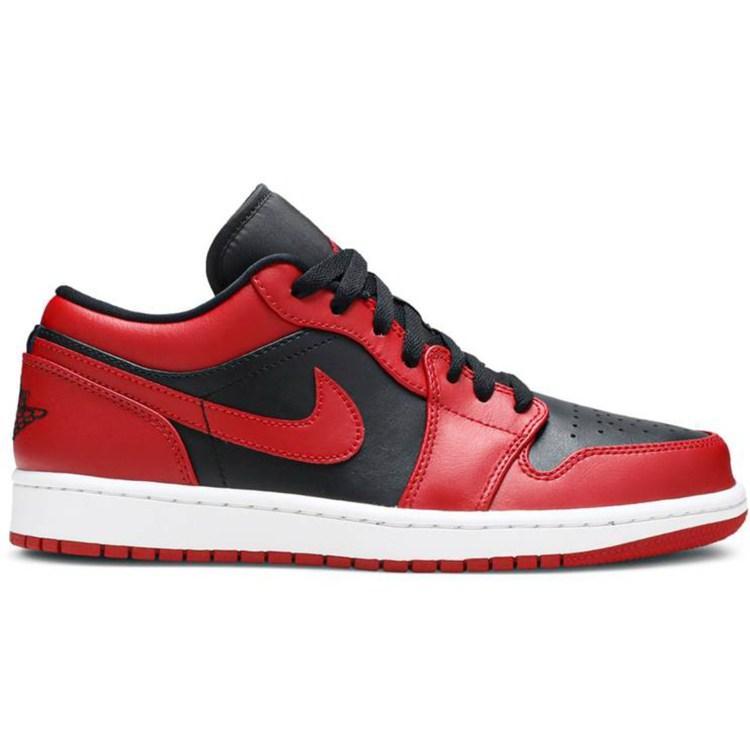 low top basketball shoes image 1 0010 aj1reversebred