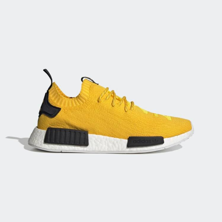NMD R1 Primeknit Shoes Yellow S23749 01 standard
