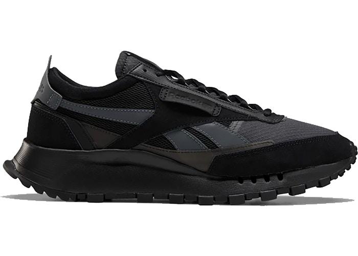 reebok classic leather legacy black grey