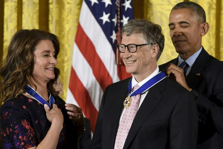bill gates medal of freedom