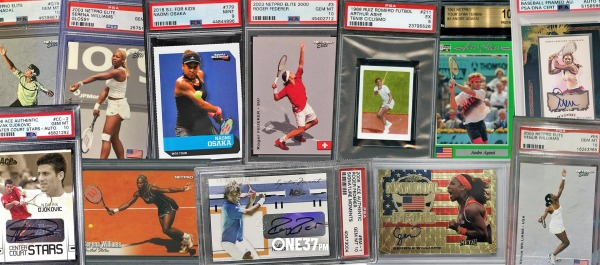 The 14 Highest Recent Tennis Card Sales // ONE37pm