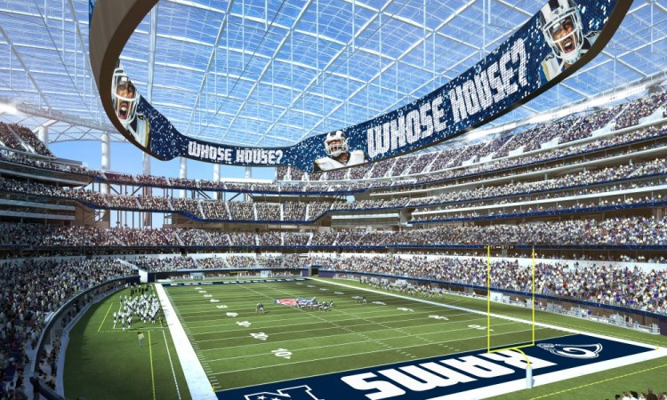 Inglewoods stadium inside