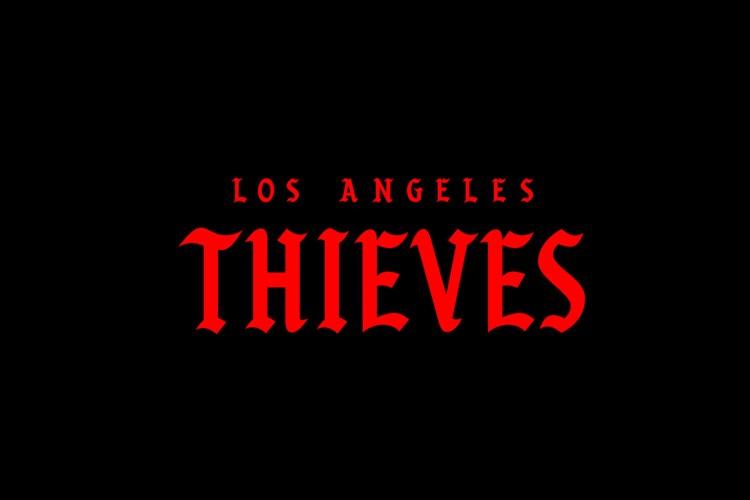 LA Thieves   Wordmark
