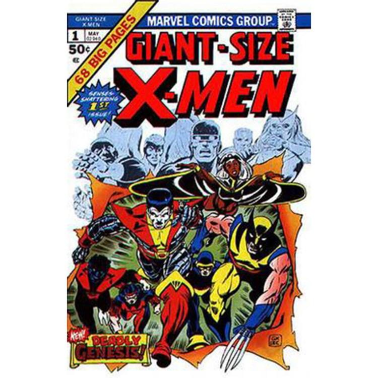 mr bolo 1 0001 Giant Size X Men no. 1   cover