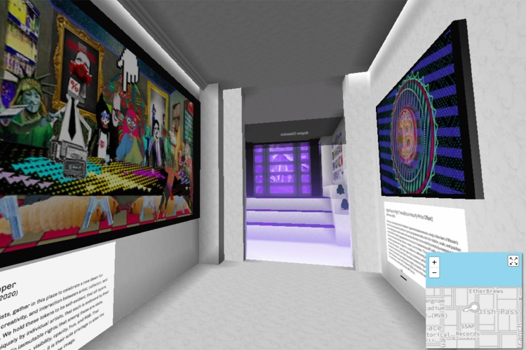 nft visual art galleries 0000 Async CV 2