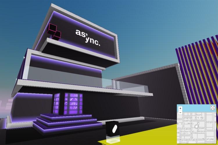 nft visual art galleries 0001 Async CV