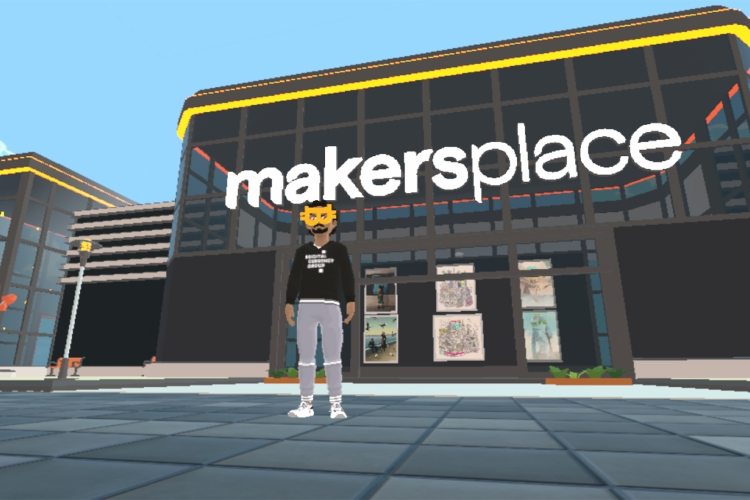 nft visual art galleries 0005 MakersPlace DCL