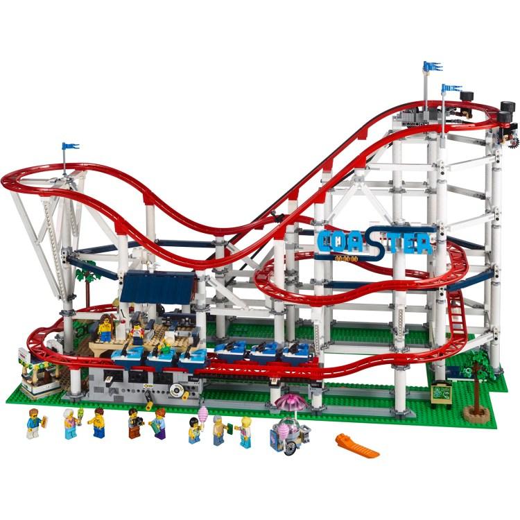 weird lego sets 0001 roller coaster