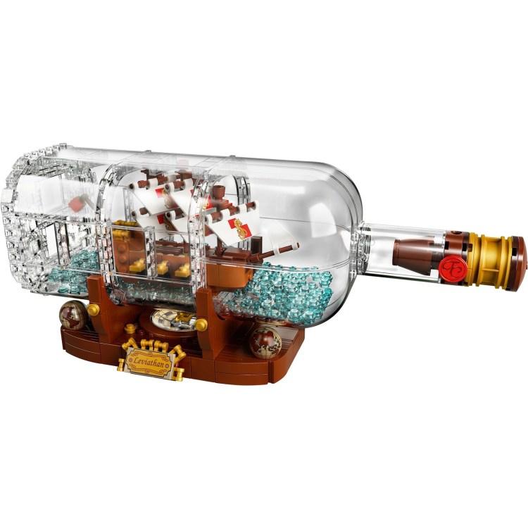weird lego sets 0005 ship in a bottle