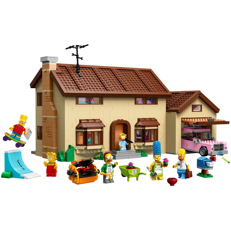 weird lego sets 0006 simpsons