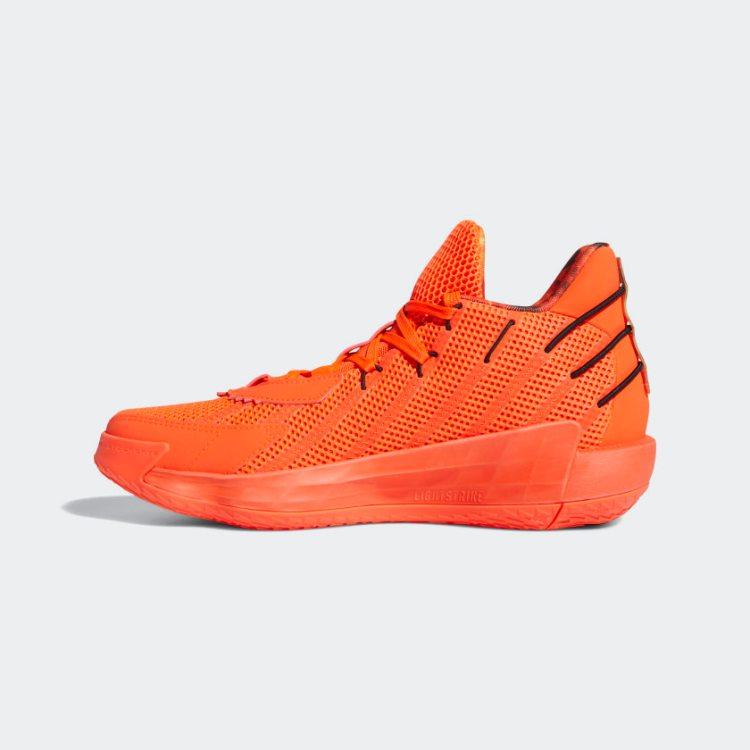 Dame 7 Shoes Fire Inside Orange FX7439 06 standard