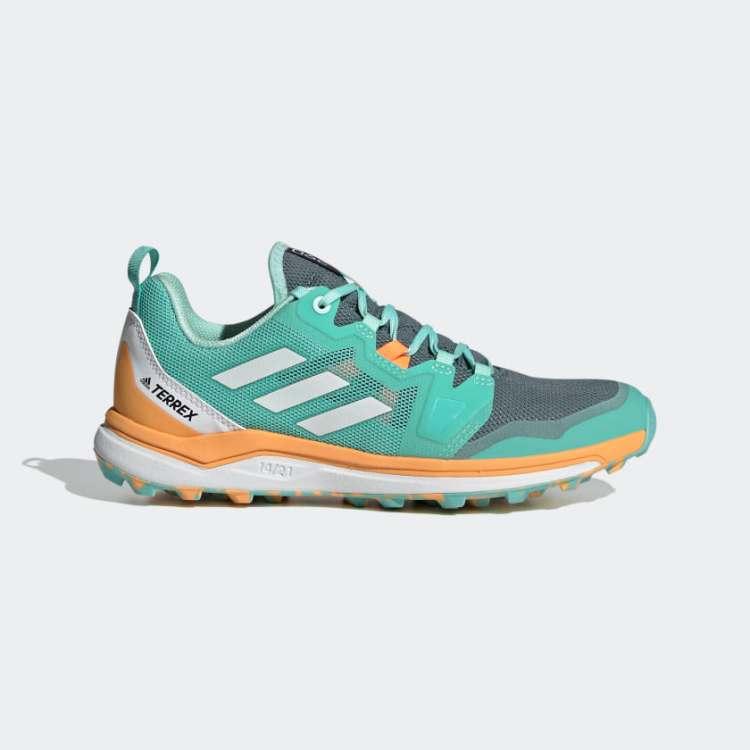 Terrex Agravic Trail Running Shoes Green FX6977 01 standard