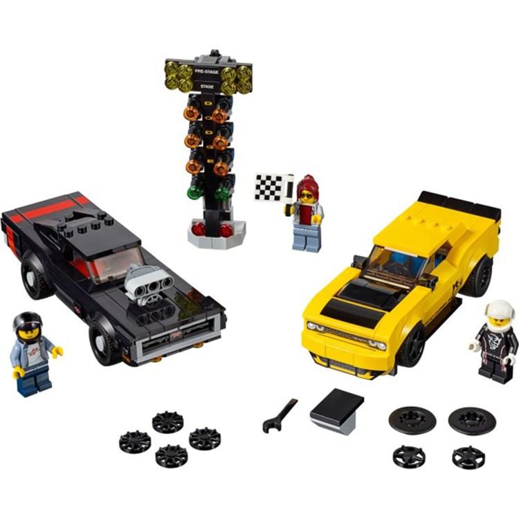 best lego cars 0005 dodge charger v challenger 1