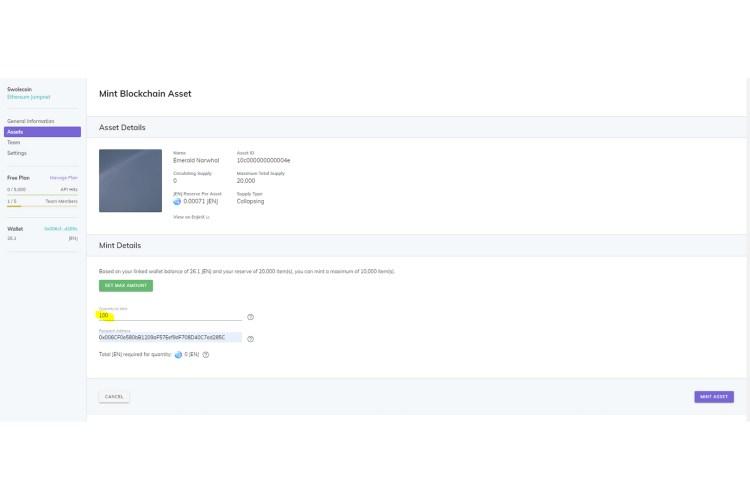 jumpnet minting horizontal 0003 Mint screen