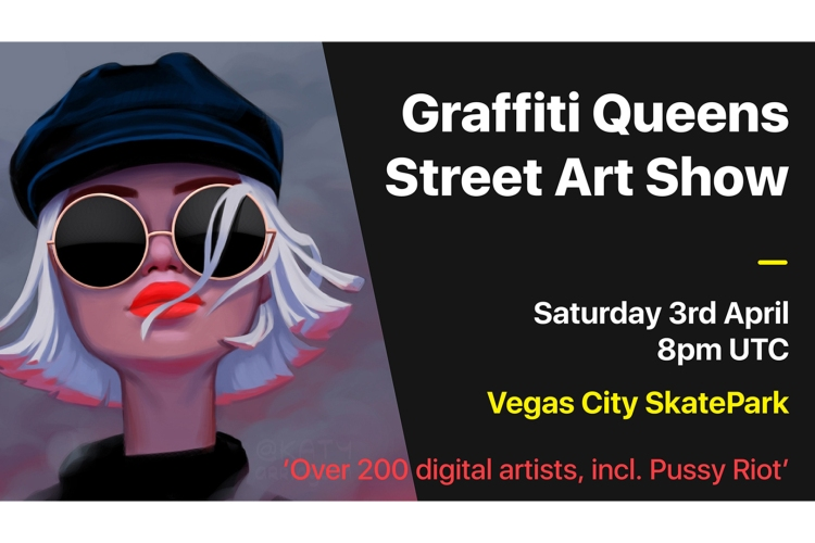 metaverse events 0000 Graffiti Queens