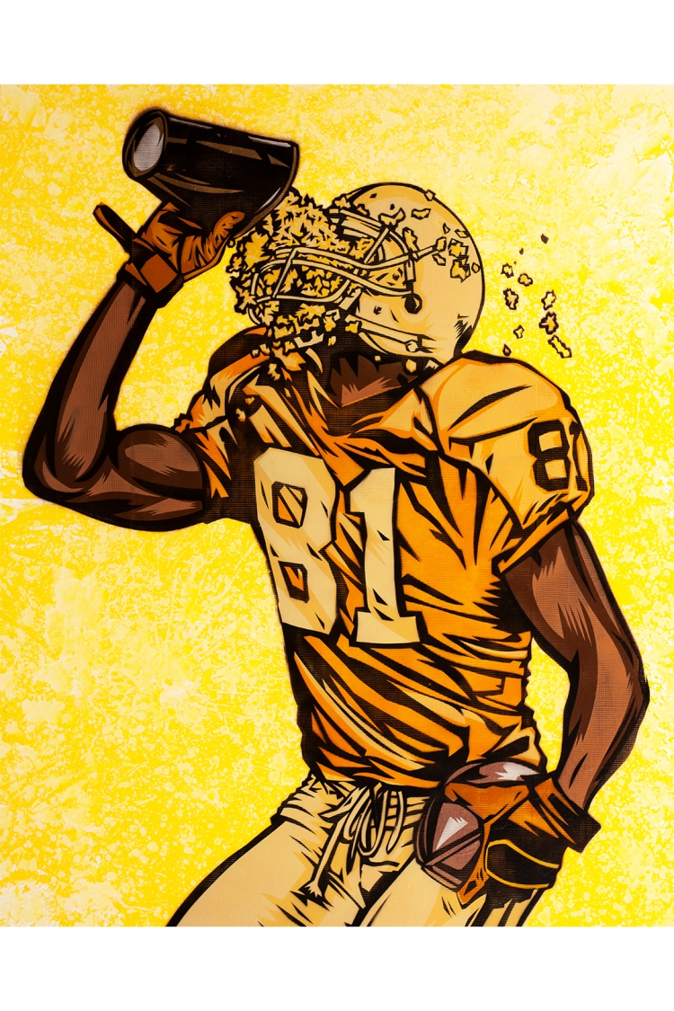 terrell owens nft 0002 POPCELLY by Blake Jamieson