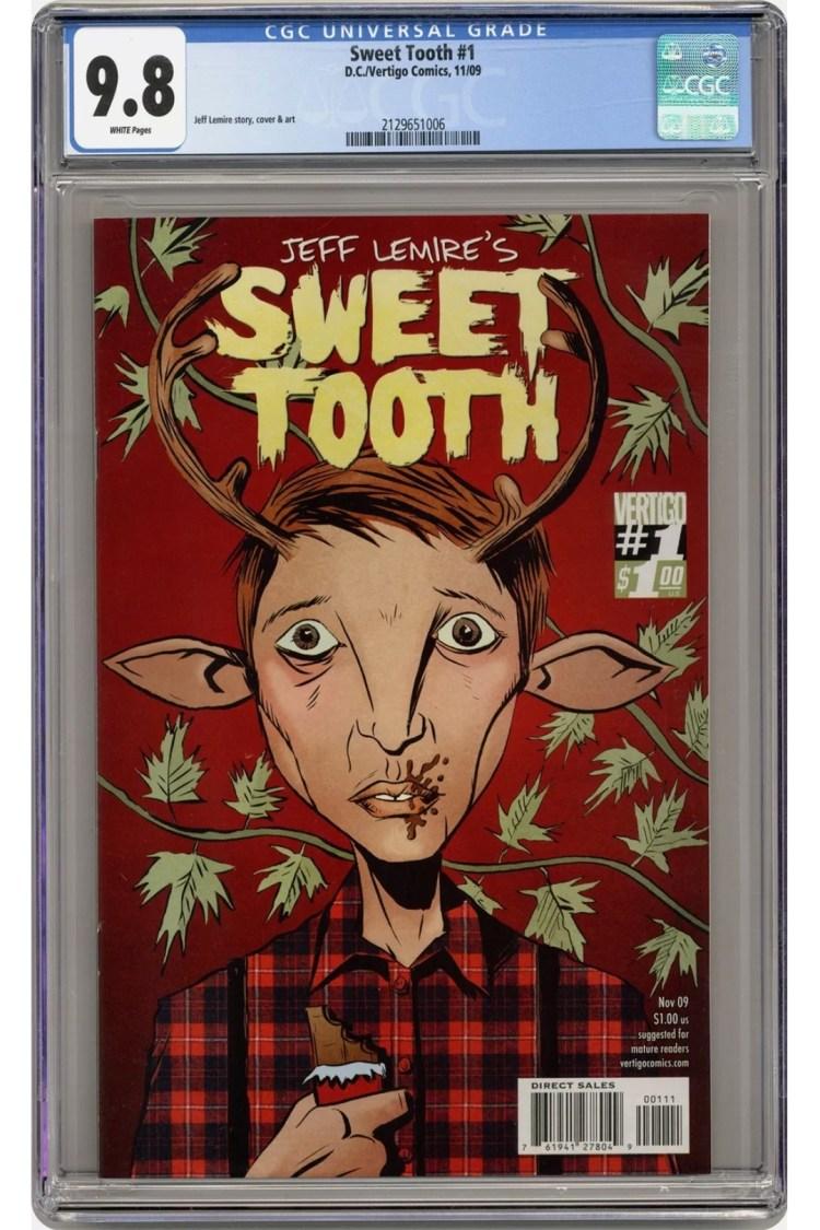 this week in comic collecting sweet tooth 0000 Screenshot 20210429 130649 eBay