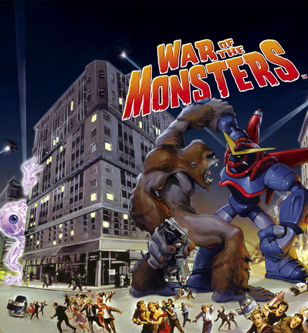 war of the monsters mobile