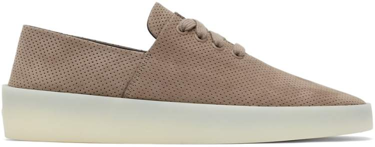 fear of god taupe suede 110 sneaker