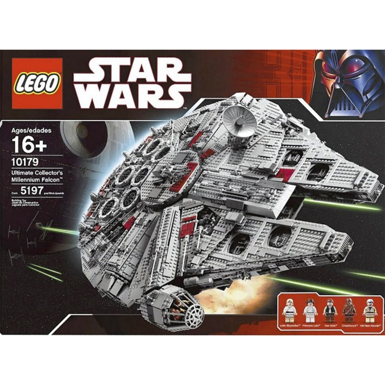 most expensive lego sets of all time 0000 millennium falcon