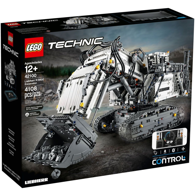 most expensive lego sets of all time 0004 technic liebherr