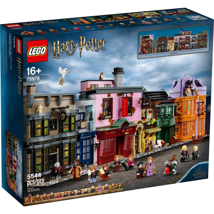 most expensive lego sets of all time 0005 diagon alley