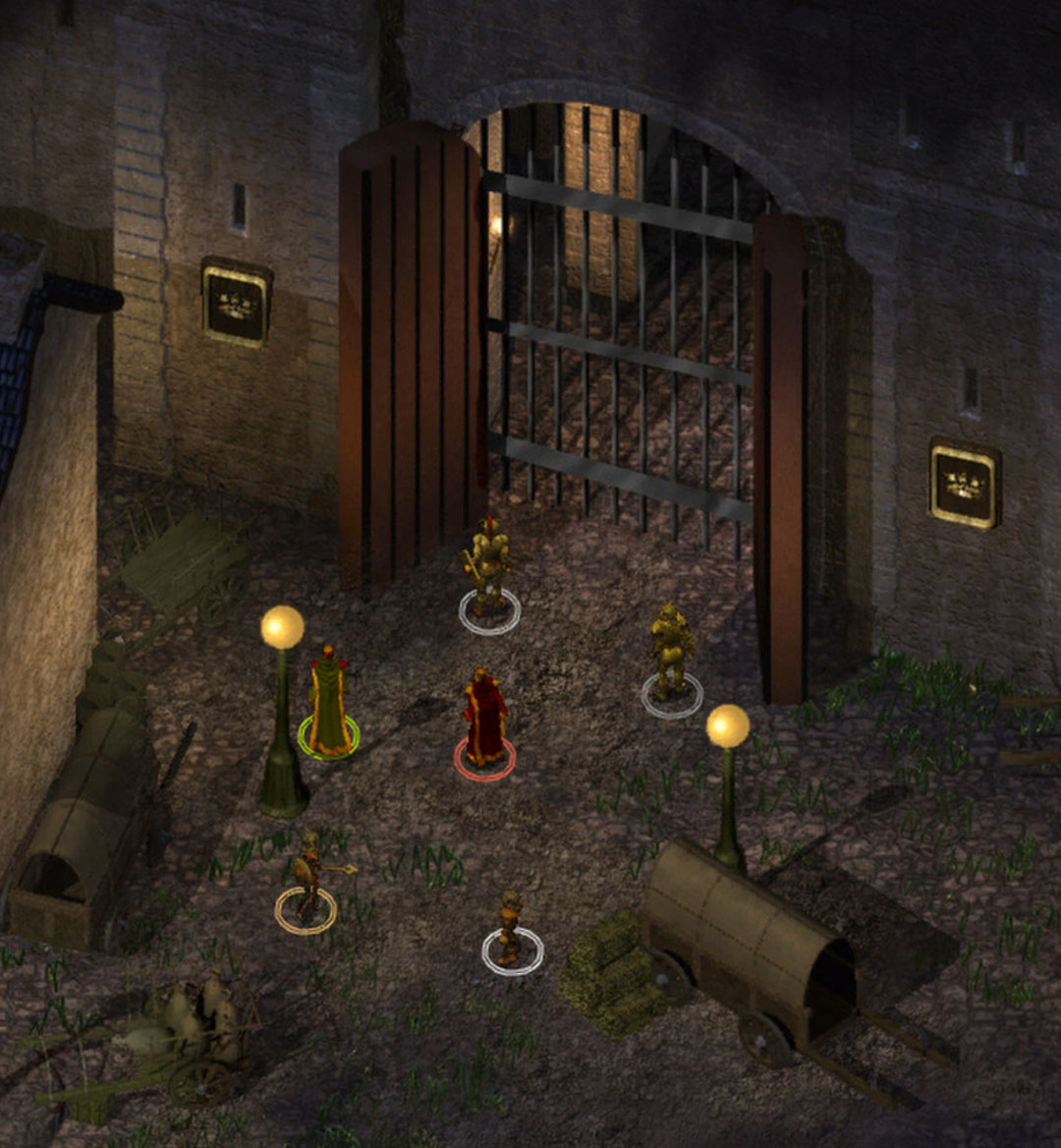 games like baldurs gate mobile