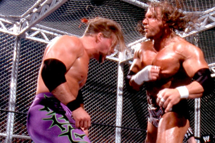 hell in a cell matches 0005 triplehjericho